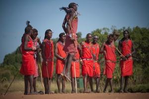 Masai dancers2